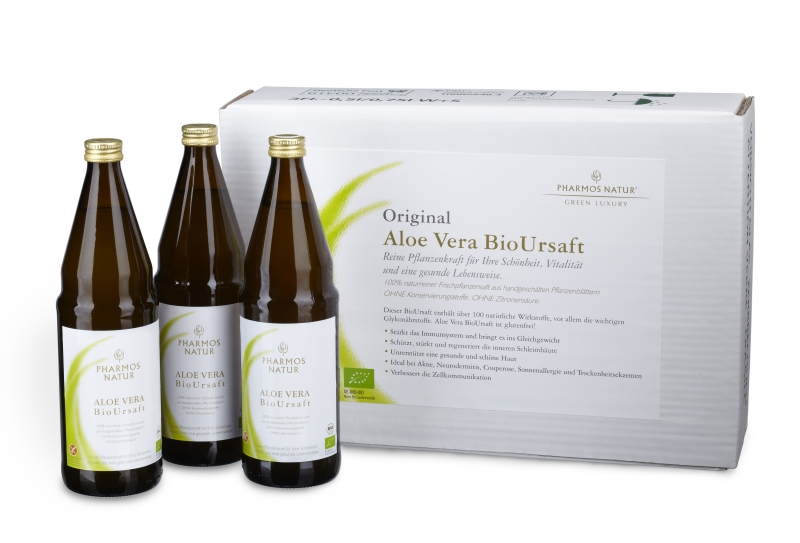 Aloe Vera BioUrsaft Kurpackung